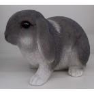 Садовая фигурка Длинноухий кролик серо-белый BJ112310V-6(2)  GS