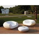Кресло садовое Chubby, белое, 130x120см, h-56 (SDWCH056T)   SLIDE Италия