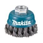 Зачистная щетка (с гофрированной чашкой) M14 x 2 75 мм D-24131 Makita