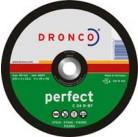 1238015 Отрезной диск по камню CS 24R 230x3,0x22,23 T4 Dronco