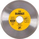 DeWalt, DT3713, Алмазный отрезной круг со сплошной кромкой по керамике для сухого резания для УШМ, 1