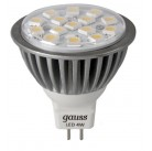 Лампа Gauss MR16 4W  LED GU5.3 2700K EB101005104