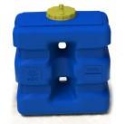 Емкость прямоугольная 1000 л, длина 1320 мм, выс 1510 мм, шир 700 мм