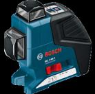 Линейный лазерный нивелир (построитель плоскостей) GLL 2-80 P + BM1 + LR2 в L-Boxx 0601063207