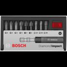 Набор бит PH/PZ/TX с держателем (*10) 2608522064 Bosch