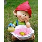 Садовая фигурка Ребенок с цветком MG2388600(С7)