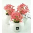 Искусственный цветок Колокольчики розовые, 3 цветка (81751)