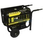 Генератор бензиновый Firman FPG7800E2 5кВт, тележка, эл. стартер
