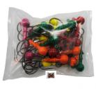 Грузило Джиг-головка шар. сапожок цветной 25шт 10гр
