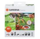 Базовый комплект садового водопровода Gardena