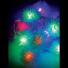 Гирлянда Космос Gir 30 LED RGB Boll1 (ершики) 4,4м