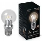 Лампа Gauss LED Glob Cry cl 3W E27 27 (105202103)