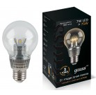 Лампа Gauss LED Glob Cry cl 7W E27 41(105202207)