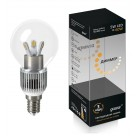 Лампа Gauss LED GlobCry cl 5W E1441DIM(105201205D)