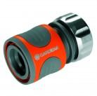 """Коннектор Premium  19 мм (3/4"""") и 16 мм (5/8""""), без упаковки в коробке Gardena 08167-50.000.00"""