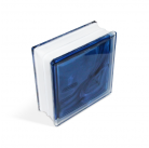 Стеклоблок In-colored blue 190х190х80мм, JH060  D G