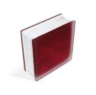 Стеклоблок Misty in-colored red 190х190х80мм, JH065  D G