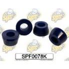 SuperPro Втулки задних амортизаторов SPF0078K