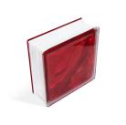 Стеклоблок In-colored red 190х190х80мм, JH058  D G