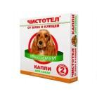 Чистотел Капли МАКСИМУМ от блох  для собак средних пород