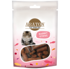 ARATON  Snack for cats rabbit sticks 50g