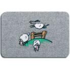 """Коврик полипропил. Flocky """"Овцы"""", 40x60, серый 205-072  HAMAT  Голландия"""
