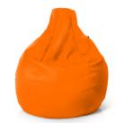 Кресло капля оранжевое