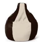Кресло капля шоколад-беж