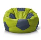 Мяч салатово-серый