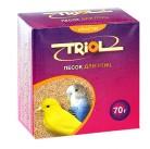 "4197 Триол- Криспи ""Песок"" минер. подкормка для птиц 70г"