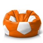 Мяч оранжево-белый