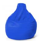Кресло капля синее