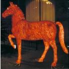 Лошадь красная 228х210см, PHS-018-24V,  RI GE