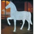 Лошадь белая 228х210см, PHS-017-24V,  RI GE