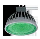 Лампа LED MR16-D 21 зеленый