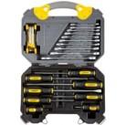 """Набор инструментов STAYER """"PROFI"""" универсальный, высококачественная CRV сталь, хромированное покрытие H26"""