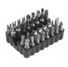 """Набор ЗУБР: Биты """"МАСТЕР"""" специальные, с магнитным адаптером, хромомолибденовая сталь, 33 предмета"""