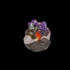 Горшок Синичка в шляпке HP091196-2(3)  GS