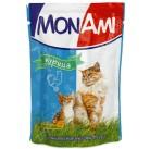 МонАми (консервы для кошек Курица) паучи 100г