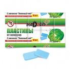 Пластины от комаров NADZOR с запахом зеленый чай 11331