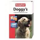 Беафар витамины  для собак 180таб Doggy`s Mix