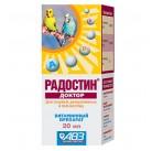 РАДОСТИН-ДОКТОР д\птиц при заболев,гиповитаминозах и др.20мл(1/72)