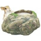 Заяц на каменном горшке HA07032