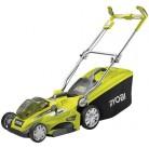 Аккумуляторная газонокосилка, ширина скашивания 40 см, 1 Батарея 36В х 5.0Aч, эргономичная рукоять Ryobi RLM36X40H50