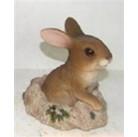 Садовая фигурка Кролик в норе BJ08198  GS
