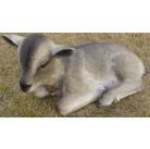 Садовая фигурка Козленок серый (лежащий) MG20420(4)  GS