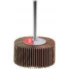 """Круг шлифовальный ЗУБР """"МАСТЕР"""" веерный лепестковый, на шпильке, тип КЛО, зерно-электрокорунд нормал (36602-180)"""