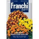 Тагетес карликовый махровый Nano Fiori Doppi, смесь (1 гр)  VXF 353/3   Franchi Sementi