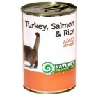 NP Cat Neutered Turkey, Salmon&Rice 400g canned food for cats