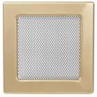 Решетка вентиляционная золотистая Dospel 17х17